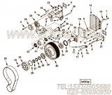 【锁紧垫圈】康明斯CUMMINS柴油机的4000744 锁紧垫圈