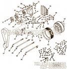 【离合器】康明斯CUMMINS柴油机的4001589 离合器