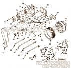 【驱动器支架】康明斯CUMMINS柴油机的4016729 驱动器支架
