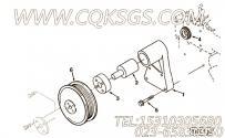 【Support, Fan】康明斯CUMMINS柴油机的3902350 Support, Fan