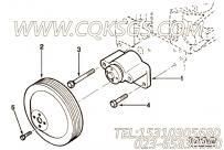 【3928553】六角法兰面螺栓 用在康明斯柴油发动机