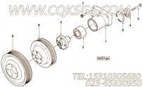 【Support, Fan】康明斯CUMMINS柴油机的3930330 Support, Fan