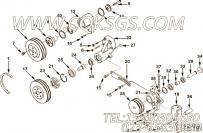 【Belt, V】康明斯CUMMINS柴油机的3040357 Belt, V