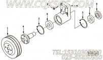 【风扇轮毂固定器】康明斯CUMMINS柴油机的3931016 风扇轮毂固定器