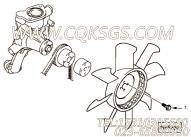 【六角法兰六角螺钉】康明斯CUMMINS柴油机的4900273 六角法兰六角螺钉