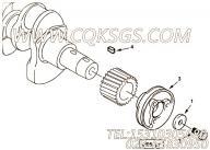 【曲轴皮带轮】康明斯CUMMINS柴油机的4900221 曲轴皮带轮