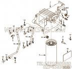 【燃油输送管】康明斯CUMMINS柴油机的3685983 燃油输送管