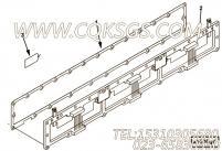 3069786进气歧管衬垫,用于康明斯M11-C350柴油发动机排气管布置(空空中冷用)组,更多【破碎机】配件报价