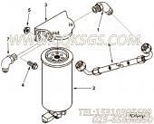 【柔性软管】康明斯CUMMINS柴油机的4003438 柔性软管