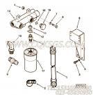 68143夹子,用于康明斯KTA19-C525柴油机液压调整正时组,更多【牵张机】配件报价