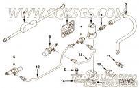 【柔性软管】康明斯CUMMINS柴油机的3923949 柔性软管