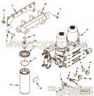 【减少适配器】康明斯CUMMINS柴油机的4964128 减少适配器