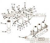 【外螺纹弯头】康明斯CUMMINS柴油机的3331817 外螺纹弯头