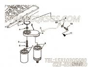【柴油机4BTA3.9-C80的燃油滤清器组】 康明斯带密封垫螺栓报价,参数及图片