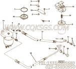 【燃油滤清器】康明斯CUMMINS柴油机的3924263 燃油滤清器