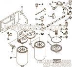 【过滤器顶盖】康明斯CUMMINS柴油机的3935487 过滤器顶盖