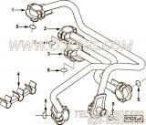 【燃油供应管】康明斯CUMMINS柴油机的4893585 燃油供应管