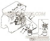 【过滤器支架】康明斯CUMMINS柴油机的4900516 过滤器支架