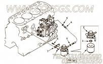 【过滤器支架】康明斯CUMMINS柴油机的4900476 过滤器支架