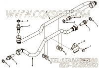 【燃油供应管】康明斯CUMMINS柴油机的3964089 燃油供应管