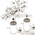 【发动机ISL425 40的燃油滤清器连接管路组】 康明斯接头报价,参数及图片
