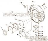 3001772油封,用于康明斯NT855-C250动力飞轮壳组,更多【工程机械】配件报价
