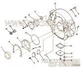 3006485孔盖,用于康明斯KT19-C450发动机飞轮壳组,更多【油田压裂车】配件报价