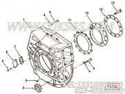 【飞轮壳】康明斯CUMMINS柴油机的3882594 飞轮壳