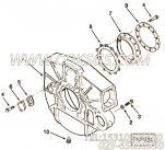 3042004螺塞,用于康明斯M11-C290柴油发动机飞轮壳组,更多【军品车】配件报价