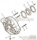 【六角头螺栓】康明斯CUMMINS柴油机的3892355 六角头螺栓