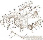 【飞轮壳】康明斯CUMMINS柴油机的3896355 飞轮壳