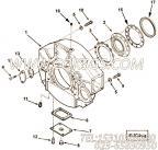 【飞轮壳】康明斯CUMMINS柴油机的3253995 飞轮壳