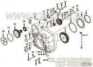 204476碗型塞,用于康明斯M11-C350柴油发动机飞轮壳组,更多【徐州重机起重机】配件报价