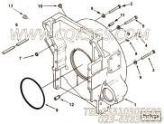 【飞轮壳】康明斯CUMMINS柴油机的3090841 飞轮壳