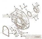 3201056飞轮壳盖,用于康明斯KTA19-M600主机飞轮壳组,更多【船用】配件报价