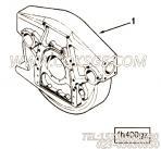 70657飞轮指示孔盖,用于康明斯NTA855-G2柴油发动机飞轮壳组,更多【电力】配件报价