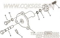 【半圆键】康明斯CUMMINS柴油机的S 306 半圆键