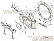 【飞轮壳衬垫】康明斯CUMMINS柴油机的3332014 飞轮壳衬垫