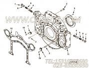【飞轮壳】康明斯CUMMINS柴油机的4001610 飞轮壳