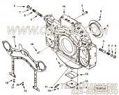【封面板垫片】康明斯CUMMINS柴油机的4001200 封面板垫片