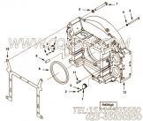 【飞轮壳】康明斯CUMMINS柴油机的4969448 飞轮壳