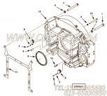 【飞轮壳】康明斯CUMMINS柴油机的4928016 飞轮壳