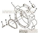 【飞轮壳】康明斯CUMMINS柴油机的C0101062503 飞轮壳