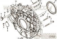 【飞轮壳】康明斯CUMMINS柴油机的4896888 飞轮壳