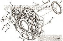 【引擎LD180 30的飞轮壳组】 康明斯六角法兰面螺栓报价,参数及图片