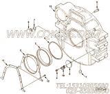 【发动机6CTA8.3-G1的飞轮壳组】 康明斯飞轮壳总成报价,参数及图片
