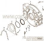 【柴油机6CTA8.3-C212的飞轮壳组】 康明斯飞轮壳报价,参数及图片