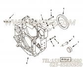 【飞轮壳】康明斯CUMMINS柴油机的4096437 飞轮壳