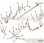 【喷油器的电源管】康明斯CUMMINS柴油机的3094872 喷油器的电源管