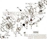【柴油机C220 20CNG的齿轮室盖组】 康明斯O形密封圈报价,参数及图片